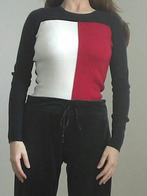 Tommy Hilfiger Sweatshirt, Langarm Logo Top, Street Style, USA