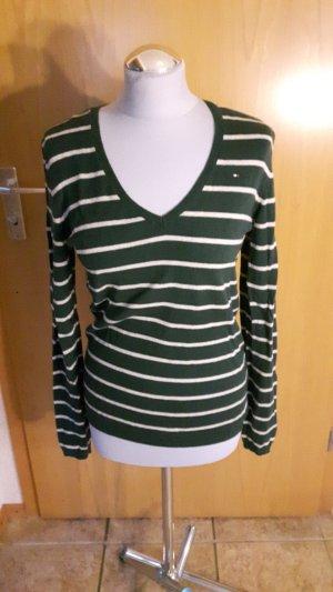 Tommy Hilfiger Sweatshirt mit V- Ausschnitt