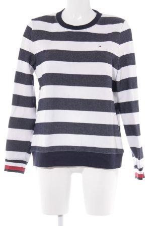 Tommy Hilfiger Suéter estampado a rayas look casual