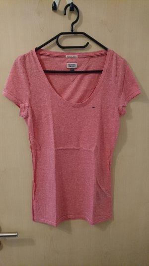 Tommy Hilfiger Denim T-shirt roze