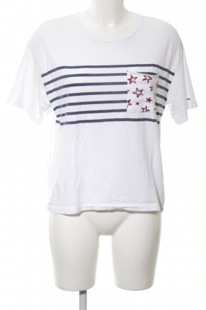 Tommy Hilfiger T-Shirt white themed print casual look