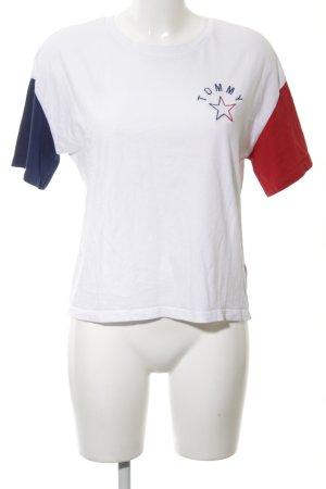 Tommy Hilfiger T-Shirt mehrfarbig sportlicher Stil