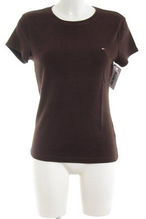 Tommy Hilfiger T-Shirt braun Casual-Look