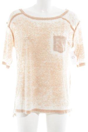 Tommy Hilfiger T-Shirt apricot Farbverlauf Used-Optik