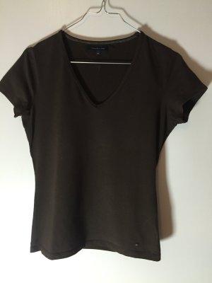 Tommy Hilfiger V-Neck Shirt dark brown