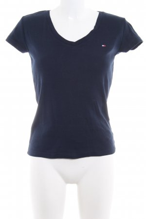 Tommy Hilfiger T-Shirt dunkelblau Casual-Look