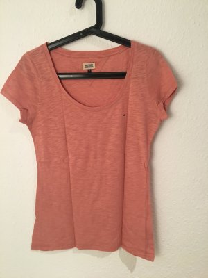 Tommy Hilfiger T-shirt rouge clair-rose