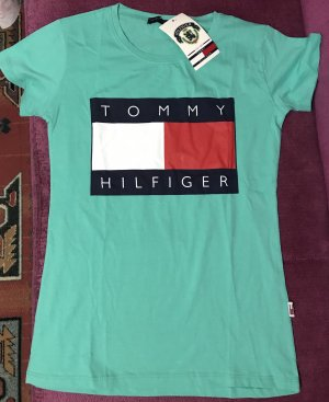 Tommy Hilfiger Sports Shirt turquoise