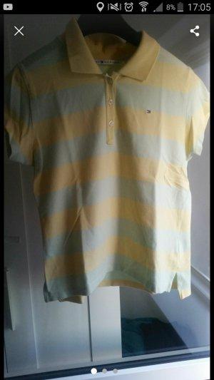 Tommy Hilfiger Polo jaune primevère-vert pâle