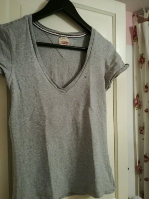 Tommy Hilfiger T-Shirt Gr.XS/S TOP! denim grau