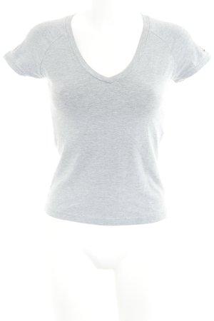 Tommy Hilfiger T-Shirt grau Casual-Look
