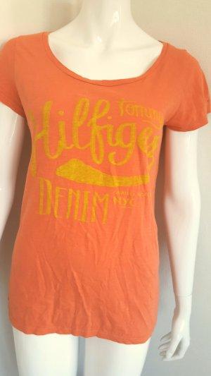 Tommy Hilfiger T-shirt orange-jaune