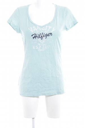 Tommy Hilfiger T-Shirt hellblau Casual-Look