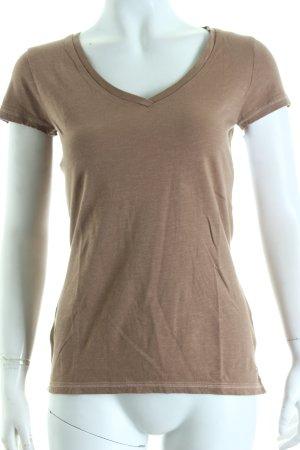Tommy Hilfiger T-Shirt hellbraun schlichter Stil