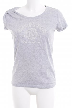 Tommy Hilfiger T-Shirt light grey themed print casual look