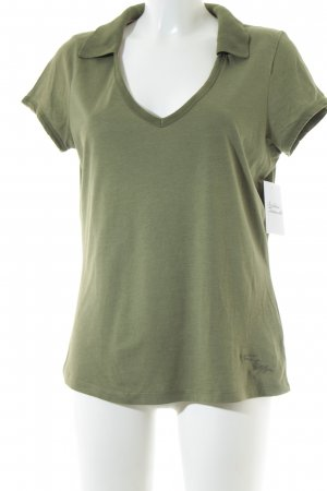 Tommy Hilfiger T-shirt vert clair style simple