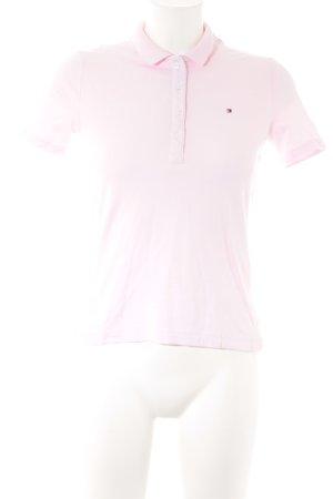 Tommy Hilfiger T-Shirt hellrosa Casual-Look