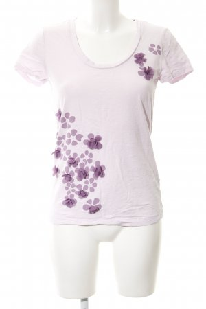 Tommy Hilfiger T-Shirt hellrosa florales Muster Casual-Look