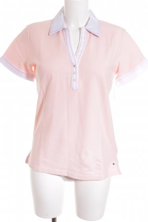 Tommy Hilfiger T-Shirt light pink-white casual look