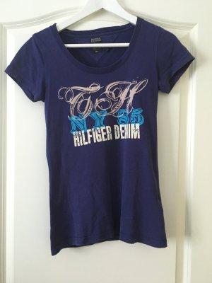 Tommy Hilfiger T-Shirt lilablau