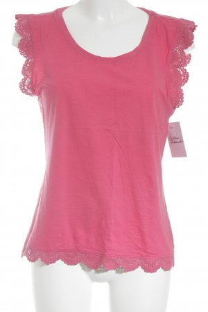 Tommy Hilfiger T-shirt magenta casual uitstraling