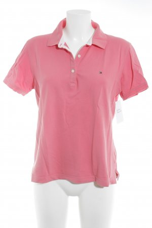 Tommy Hilfiger T-Shirt magenta Casual-Look