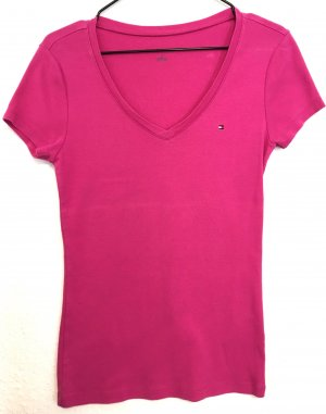 Tommy Hilfiger T-Shirt magenta Casual Look