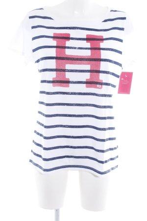 Tommy Hilfiger T-Shirt platzierter Druck Casual-Look