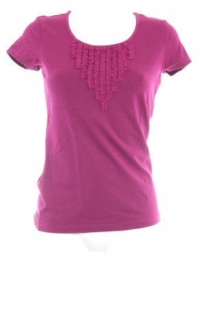 Tommy Hilfiger T-Shirt purpur-magenta sportlicher Stil