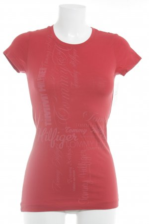 Tommy Hilfiger T-Shirt red casual look