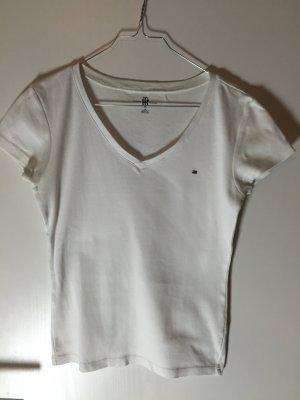 Tommy Hilfiger T-Shirt S V-Ausschnitt