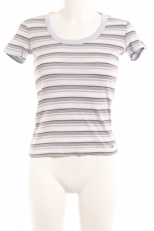 Tommy Hilfiger T-shirt motivo a righe stile casual