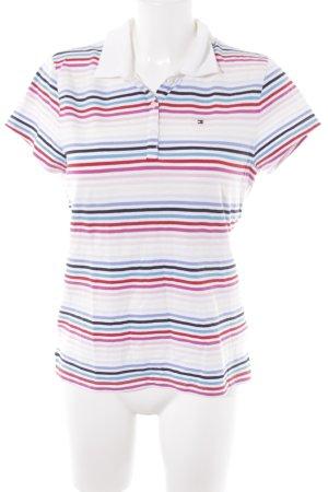 Tommy Hilfiger T-Shirt Streifenmuster sportlicher Stil