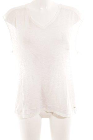 Tommy Hilfiger T-Shirt weiß Glitzer-Optik