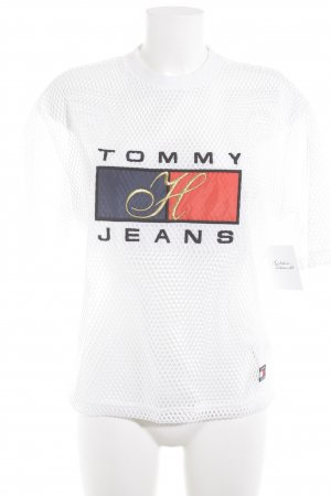 Tommy Hilfiger T-Shirt white athletic style