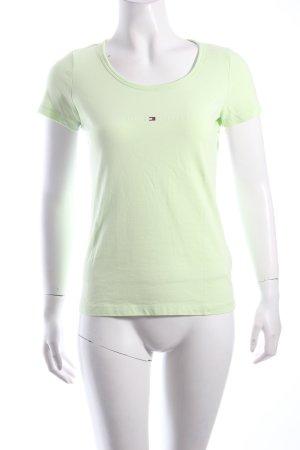 Tommy Hilfiger T-Shirt wiesengrün Casual-Look