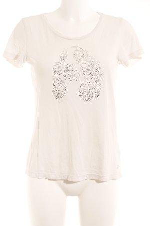 Tommy Hilfiger T-Shirt wollweiß Casual-Look