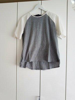 Tommy Hilfiger T-Shirts 38 grau weiss