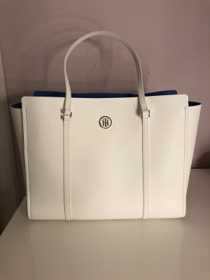 Tommy Hilfiger Bolso barrel blanco