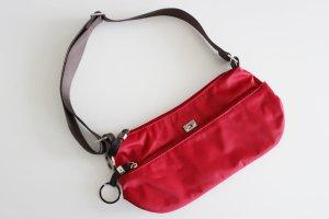 Tommy Hilfiger Tasche, rot/braun