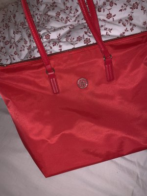 Tommy Hilfiger Shopper rouge-doré