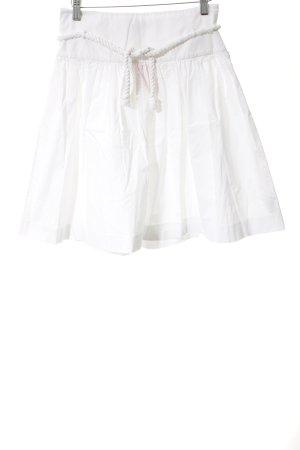 Tommy Hilfiger Falda circular blanco look casual