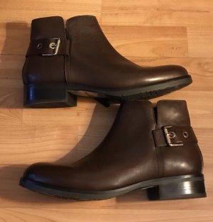 Tommy Hilfiger Tessa 1A Coffee Schuhe Boots dunkelbraun braun 40