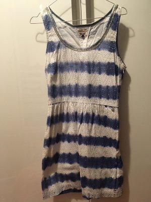 Tommy Hilfiger | Trägerkleid | blau-weiß gestreift | XS