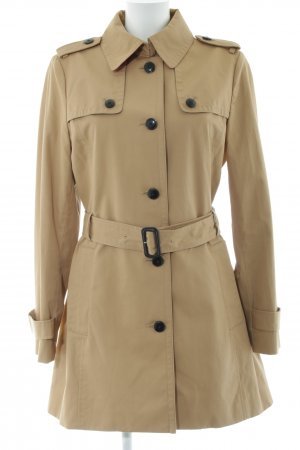 Tommy Hilfiger Trenchcoat creme-wollweiß Business-Look
