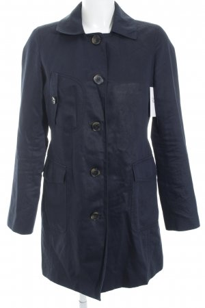 Tommy Hilfiger Trenchcoat dunkelblau Casual-Look