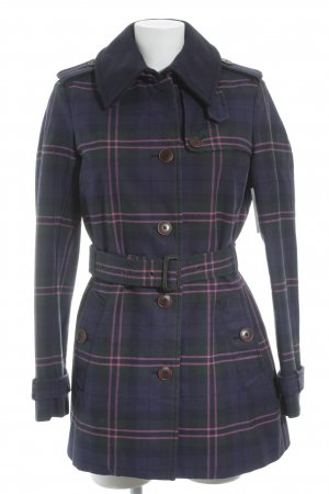 Tommy Hilfiger Trenchcoat Karomuster Casual-Look