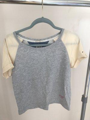 Tommy Hilfiger Denim T-shirt grijs-room