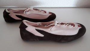 Tommy Hilfiger Turnschuh bzw. Sneaker, Gr. 38, rosa-braun,1x getragen, wie neu!!