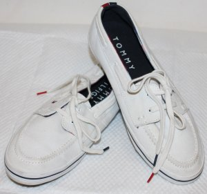 TOMMY HILFIGER Turnschuhe Sneakers weiß Gr. 37